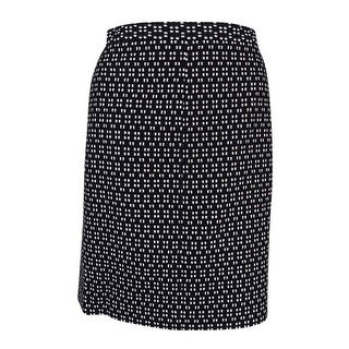 Anne Klein Women's Textured Pencil Skirt