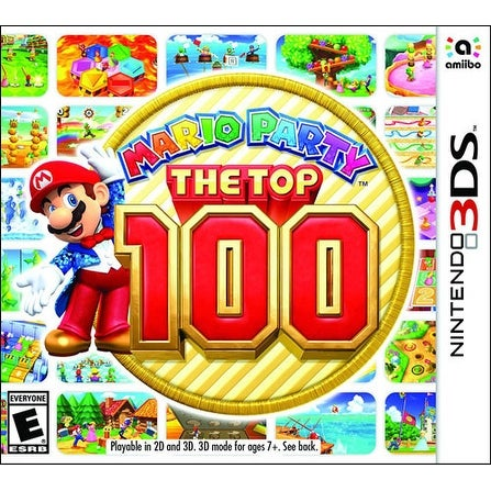Mario Party Top 100 - Nintendo 3DS