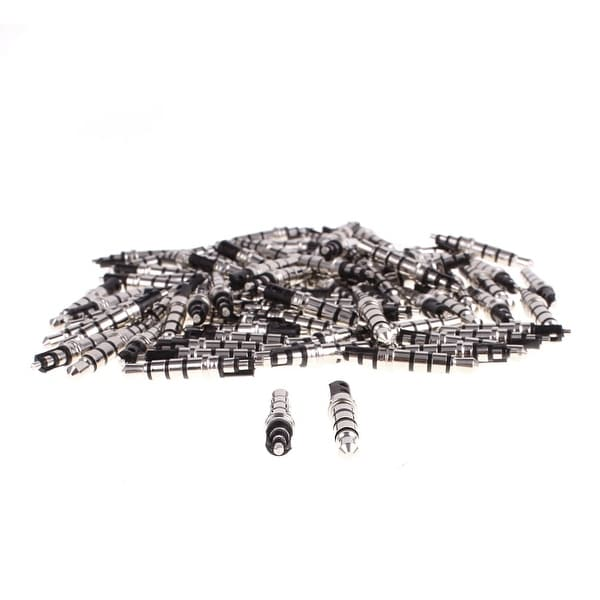 Audio Headphone 3.5mm 4 Poles Male Plug Jack Solder Connector Black 80pcs