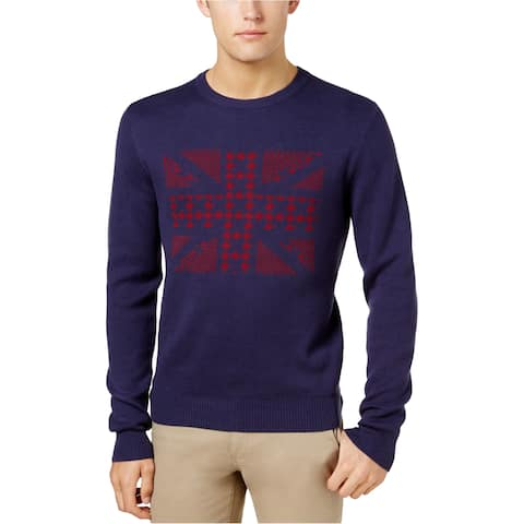 Ben Sherman Mens Union Jack Knit Sweater