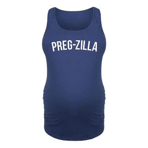 Pregzilla-Women's MATERNITY TANK