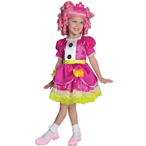 Rubies Deluxe Jewel Sparkles Toddler/Child Costume - Solid - Small