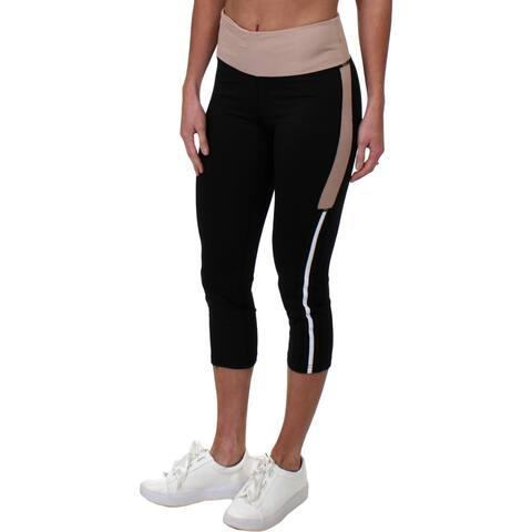 Tahari Sport Womens Charlotte Capri Pants Fitness Yoga