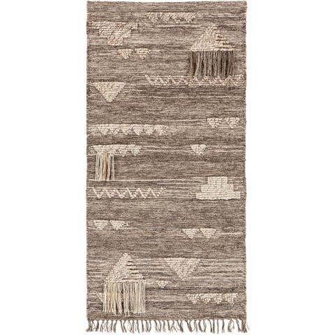 """Olympos Ivory 30"""" x 60"""" Traditional Decorative Tapestry"""