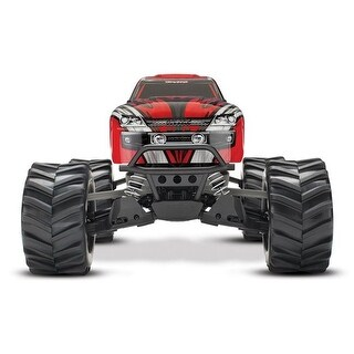 Traxxas T1X-670541RD Stampede 4 x 4 Brushed Monster Truck, Red