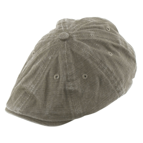 54f124bcd22 Elastic Belt Vintage Style Newsboy Ivy Cap Driving Golf Beret Hat Light Gray