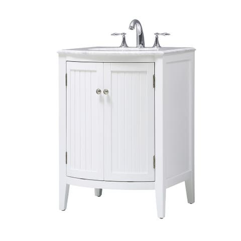 Rounded Front Cabinet Vanity