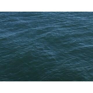 Ocean Water Photograph Wall Art Canvas