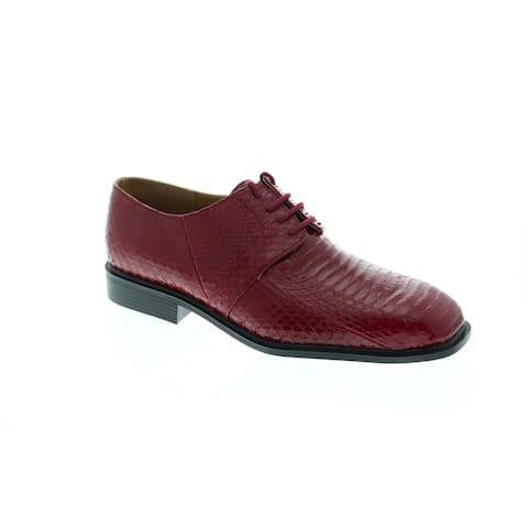 Giorgio Brutini Slaton Red Mens Oxfords & Lace Ups Plain Toe