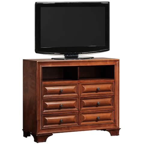 LaVita 6-drawer Wood TV Media Chest