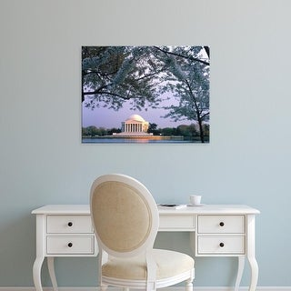 Easy Art Prints Scott T. Smith's 'Jefferson Memorial' Premium Canvas Art