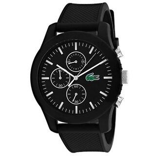 Lacoste Men's Classic Black Dial Watch