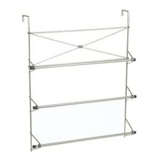 Zenith 2526NN Over The Door Towel Rack|https://ak1.ostkcdn.com/images/products/is/images/direct/b40808c5d6794921e95a81c81723f8f34c0c207d/Zenith-2526NN-Over-The-Door-Towel-Rack.jpg?impolicy=medium