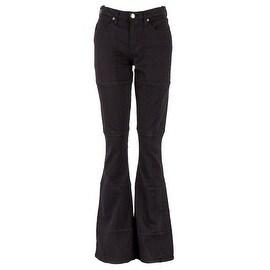 Sonas Denim Mission Hipster Flared Patchwork Jeans, Size 10