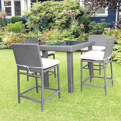 Kenwick 5 Piece Dining Set with Cushion