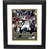 Matt Schaub signed Atlanta Falcons 8x10 Photo Custom Framed PSA Hologram