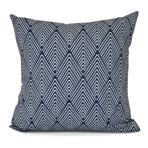Lifeflor Geometric Print Outdoor Square Patio Throw Pillow