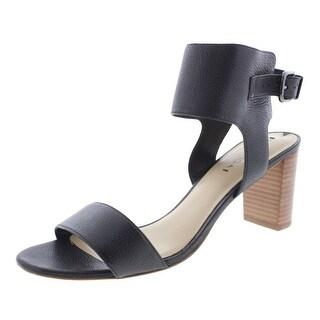 Via Spiga Womens Leather Ankle Strap Dress Sandals