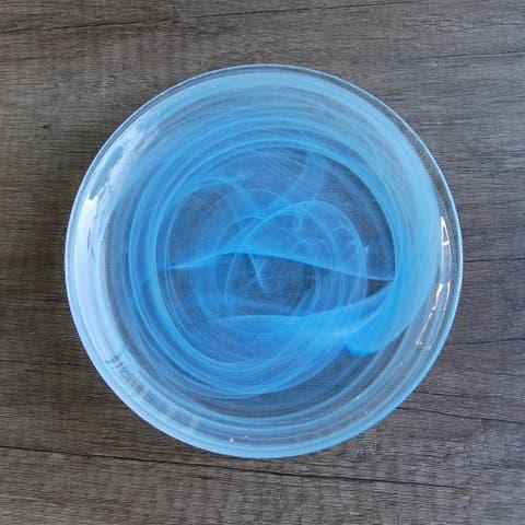 "NUAGE Aqua 6.5"" Canapé Plate"