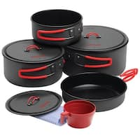 Coghlan's 1314 Non-Stick Family Cook Set, Carbon Steel