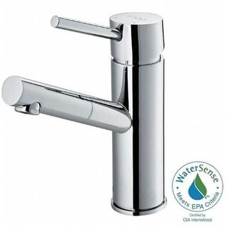 Single Hole Single-Handle Bathroom Faucet, Polished Chrome