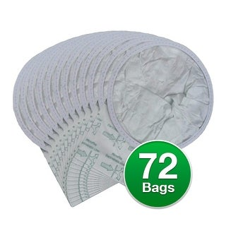 EnviroCare Replacement Vacuum Bags for Compact Patriot Vacuums - 6 Pack
