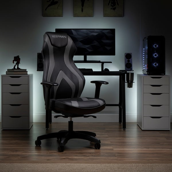 RESPAWN Sidewinder Gaming Chair, PU Leather (RSP-125). Opens flyout.
