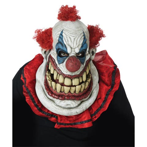 Adult Fatty McClownface Ani-Motion Clown Mask - Standard - One Size