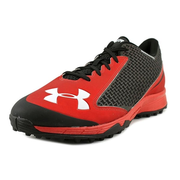 Under Armour Team Nitro Low TF Men Blk/Red Cleats