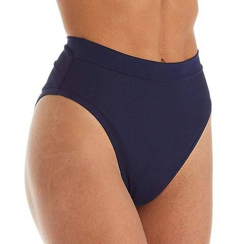 LSpace Women's Frenchi Bitsy Bikini Bottoms, Midnight Blue, Large