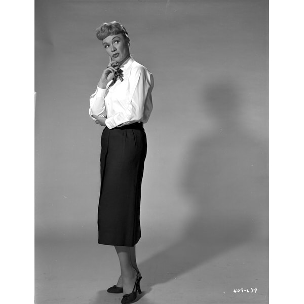 72ee0f02897 Shop Eve Arden on Long Sleeve Top Side View Thinking Photo Print - Free  Shipping On Orders Over  45 - Overstock - 25375846