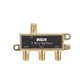RCA 3-Way Coax Splitter