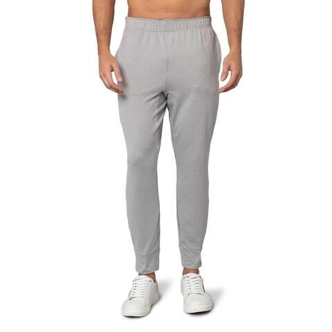 Mens Breathable Jogger Casual Lounge Sweatpants Soft Stretchy Fabric