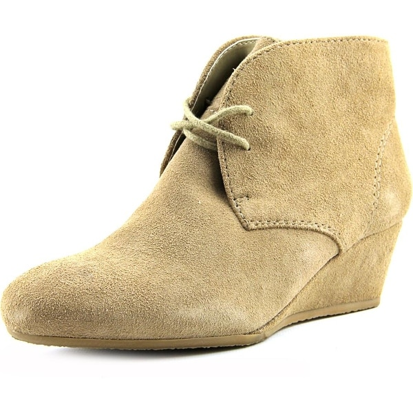 Nine West Laineo Round Toe Suede Bootie