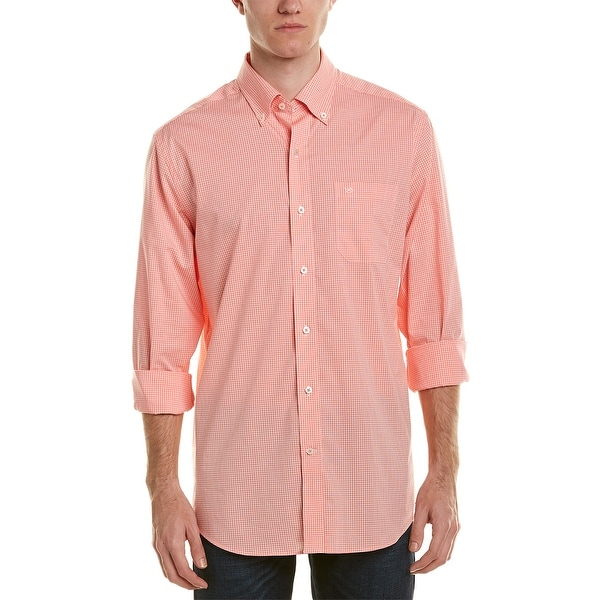 Southern Tide Classic Fit Woven Shirt. Opens flyout.