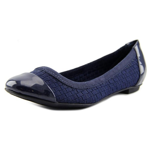 Alfani Jemah 2 Women  Round Toe Canvas Blue Flats