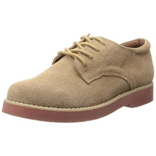 Academie Gear Boys James Suede Derby Shoes