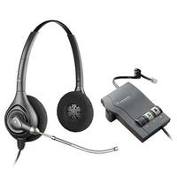 Plantronics PW261 with M22 Amplifier HW261 SupraPlus H-Series Binaural