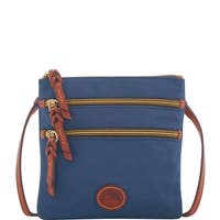 Dooney & Bourke Nylon North South Triple Zip Shoulder Bag (Introduced by Dooney & Bourke at $88 in Nov 2018)