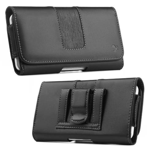Smooth Finish Case Holster Pouch Lightweight Cover for 6.5 in Phone