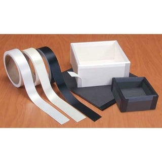 Lineco/University Products - Satin Cloth Tape - Black