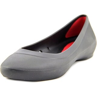 Crocs Lina Flat Women Round Toe Synthetic Flats