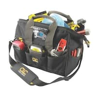 CLC L230 Tech Gear 29 Pocket Lighted Big Mouth Tool Bag