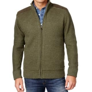 Weatherproof NEW Green Mens Size Small S Full Zip Ribbed Sweater|https://ak1.ostkcdn.com/images/products/is/images/direct/b4153fc40188dbecb8540cd10e3a40dd7b214897/Weatherproof-NEW-Green-Mens-Size-Small-S-Full-Zip-Ribbed-Sweater.jpg?impolicy=medium