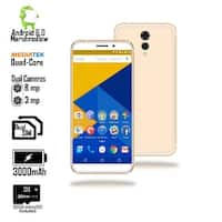 4G LTE Unlocked SmartPhone (5.6-inch Screen + Android 6 Marshmallow + GSM Unlocked + 8MP Camera + 32gbmicroSD) - White
