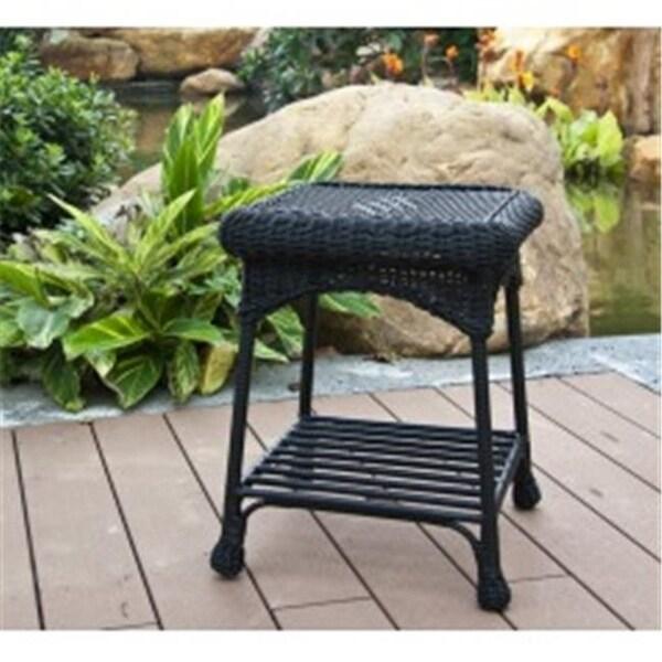 Shop Wicker Lane Oti001 D Outdoor Black Wicker Patio Furniture End