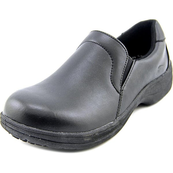 Spring Step Wales Women Round Toe Leather Black Loafer