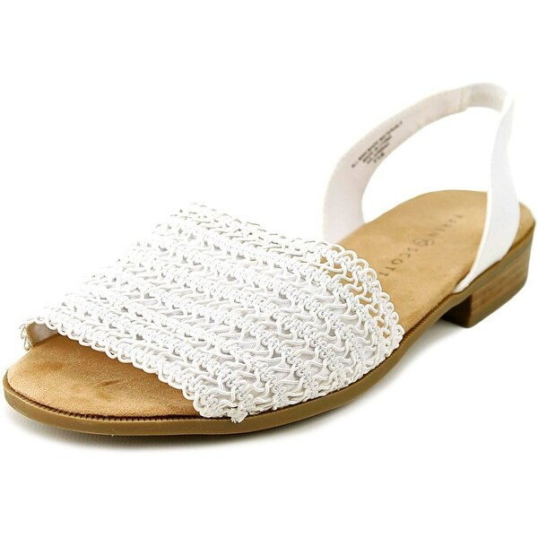 Karen Scott Jonnah Women White Sandals