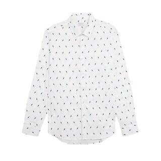 7 Diamonds High Voltage Shirt in White