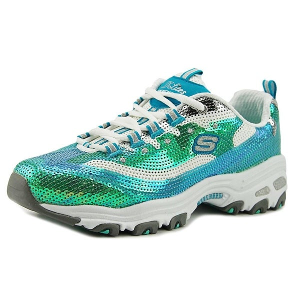 Skechers D  x27 Lites-Made To Shine Women Synthetic Multi Color Walking Shoe f2df433ba498